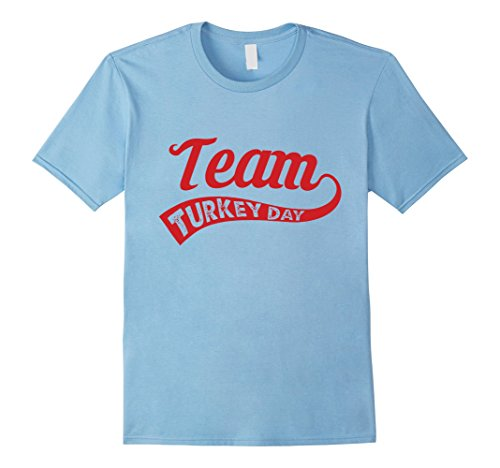 Kids Team Turkey Day retro cool funny Thanksgiving T-shirt 10 Baby (Team Turkey)