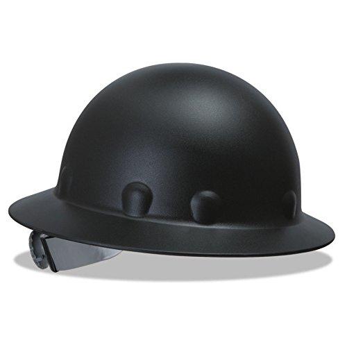 Fibre-Metal 280-P1ARW11A000 P1A Hard Hats, SuperEight, 8-Point Ratchet, Full Brim, One Size, Black