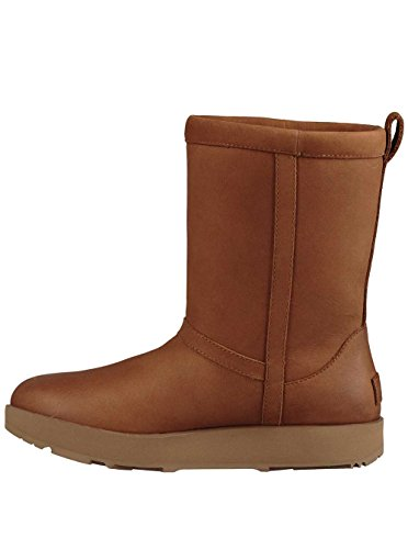 UGG Womens Classic Short L Waterproof Rain Boot Chestnut Size 9.5 by UGG