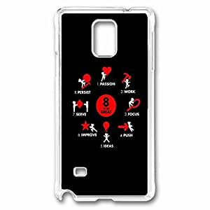 8 To Be Great Custom Back Phone For Case Samsung Galaxy S3 I9300 Cover PC Material Transparent -1210225