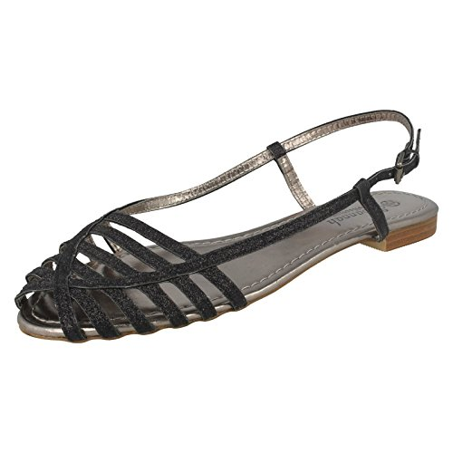 Ladies Savannah Sandals Style - F0881 Black