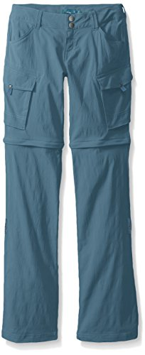prAna Women's Sage convertible-Tall Inseam Pants, Mood Indigo, Size 8