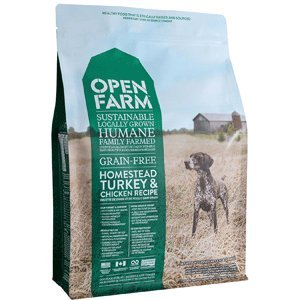 Open Farm Homestead Turkey & Chicken Recipe Sustainable Organic Dog Food (24 lbs)