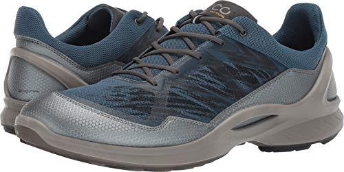 ECCO Men's Biom Fjuel Racer Running Shoe Dark Shadow/Indian Teal 42 M EU (8-8.5 US) ()