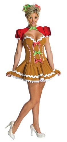 Ginger Sassy Adult Costume Multicolor · Smiffyu0027s Gingerbread ...  sc 1 st  Best Costumes for Halloween & Gingerbread Man and Woman Halloween Costumes