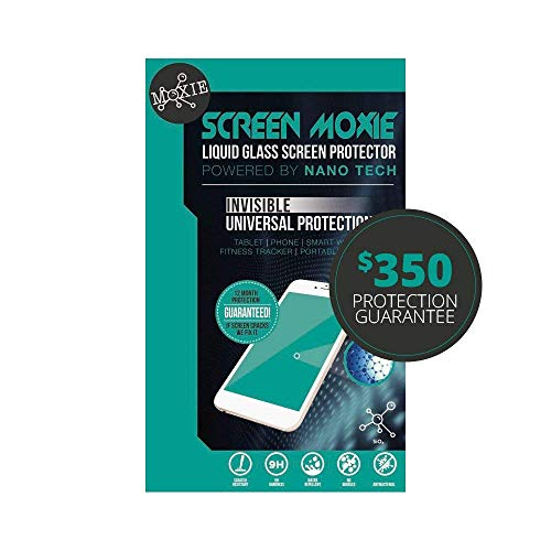 MOXIE - Liquid Screen Protection 350 Protection Guarantee - Clear - ()