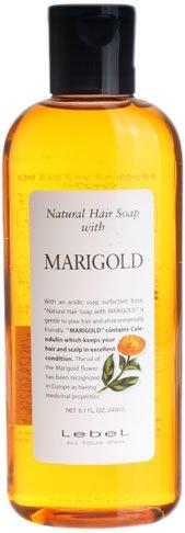 Lebel Cosmetics | Shampoo | Natural Hair Soap with Marigold Shampoo 240ml (Japan (Spf 15 Scalp Treatment)
