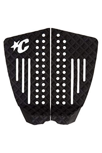 - Creatures of Leisure Strike 2 Shortboard Traction Pad Black Pop