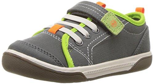 Stride Rite Kids Dakota First Walker Shoes, Grey, 5 M US Toddler