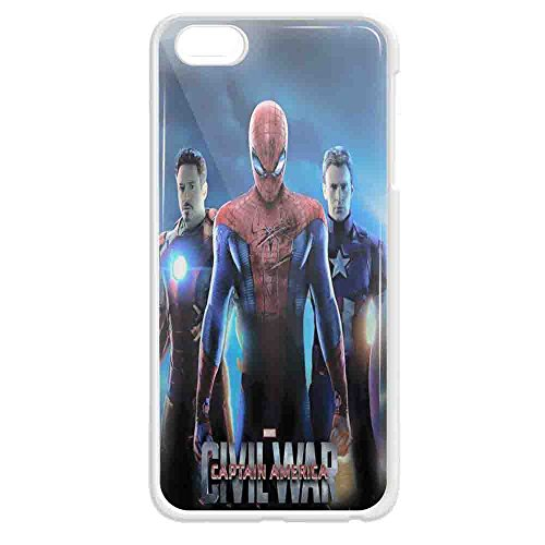captain america civil war spiderman wallpaper For iPhone case and samsung galaxy case (iPhone 5c White)