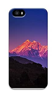 iPhone 5 5S Case landscapes nature snow mountain 32 3D Custom iPhone 5 5S Case Cover