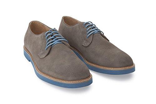Soul36 De Los Hombres La Concesión De Encaje Hasta El Color Eva Suela 100% Todos Los Zapatos Oxford Hechos A Mano De Cuero Marrón Proveedor más grande barato lVKXO6M