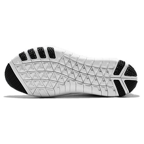 Nike Unisex-Erwachsene W Free Tr Focus Flyknit Wanderschuhe Black (Schwarz (schwarz / weiß-kühles Grau))