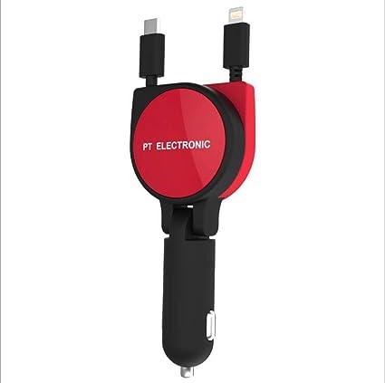 Cargador USB Para Automóvil,Red: Amazon.es: Coche y moto