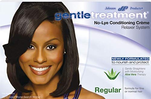 (Gentle Treatment No-Lye Conditioning Creme Relaxer System, Regular 1 ea )