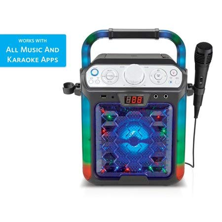 Create Fun,Lasting,Singable Moments with Cool,Colorful and Exciting Singing Machine Karaoke Cube Multi-Function Karaoke System with Dancing Lights,Makes a Great Gift by Generic (Image #2)