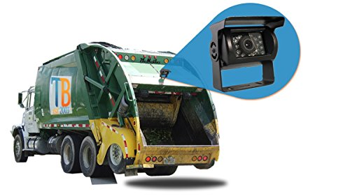 - Tadibrothers Garbage Truck Backup Camera (7 Inch Monitor with CCD Mounted Box Camera)