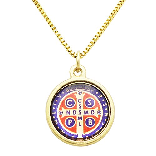 Rosemarie Collections St Benedict Cross Religious Pendant - Macy St 34