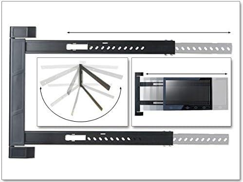 DRALL INSTRUMENTS Soporte de Montaje en Pared de TV LED LCD 180 ° Plegable con bisagras en la Esquina Acampar 42-64 Pulgadas Modelo: S91: Amazon.es: Electrónica