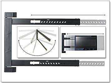 Schon TV Wandhalterung Halterung LED LCD 180° Grad Klappbar Erker Ecke Camping 42    64 Zoll