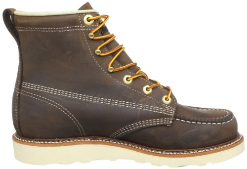Thorogood Uomo Americano Heritage 6 Maxwear Cuneo Non-sicurezza Moc Toe Boot Crazyhorse