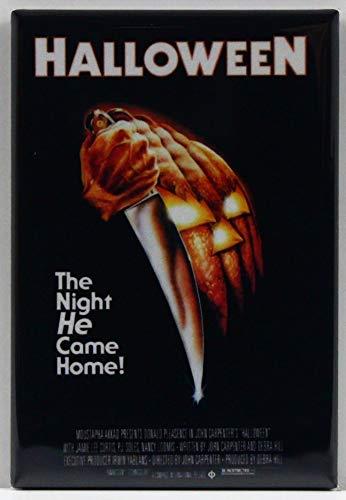 Halloween Movie Poster Refrigerator Magnet.]()