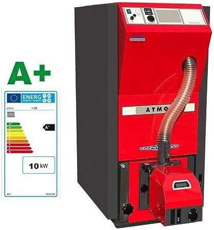 ATMOS Caldera de pellet tipo PX10-25 kW compacta de la serie de calderas de calefacción de pellets selección-PX PX10