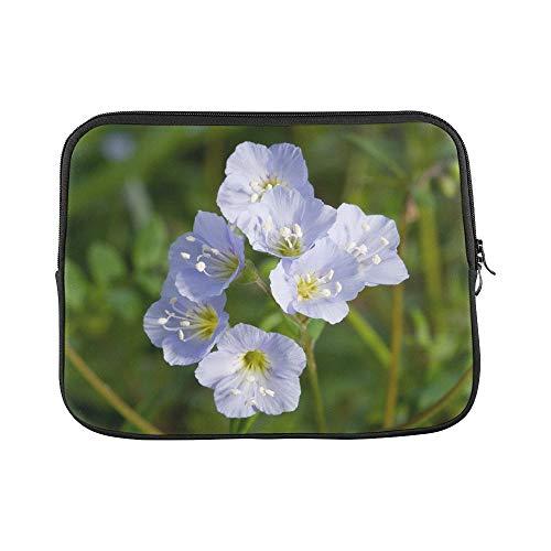 Design Custom Jacobs Ladder Flower Greek Valerian Polemonium Sleeve Soft Laptop Case Bag Pouch Skin for MacBook Air 11