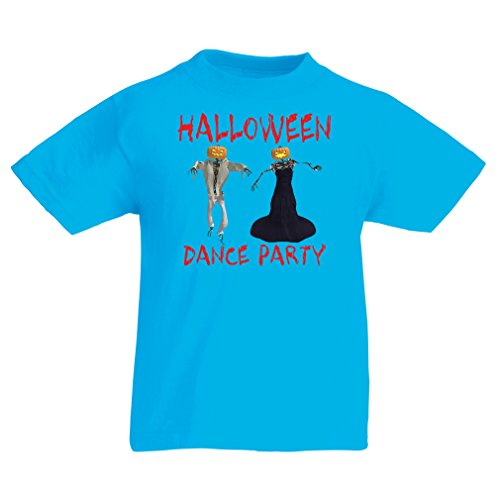 T Shirts for Kids Cool Outfits Halloween Dance Party Events Costume Ideas (14-15 Years Light Blue Multi Color)]()