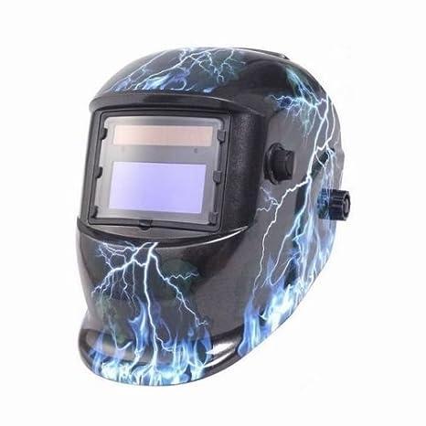 NUEVO Casco de soldar automático - Casco de soldador soldar Máscara sudor Cartel automático casco: Amazon.es: Bricolaje y herramientas