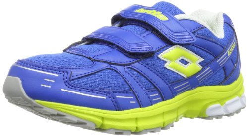 Lotto ZENITH CL S - Zapatillas de correr de material sintético infantil azul - Blau (BLUE/ACA GRN)