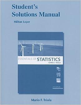 9780321641496: essentials of statistics (4th edition) (triola.