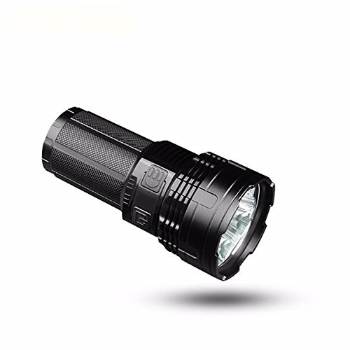 Super bright torch IMALENT DT35 Max. 8500LM 4 CREE XHP35 HI LEDs 1000 meter throw flashlight with 4pcs 18650 3000mAh batteries by IMALENT (Image #2)