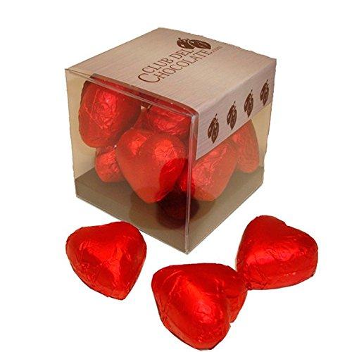 Bombones corazon rojos club del chocolate