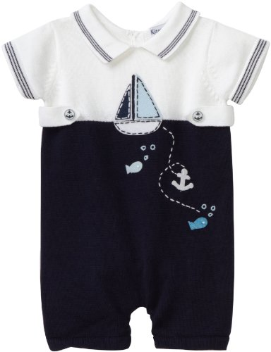 Hartstrings Baby-boys Newborn Sailboat Sweater Romper