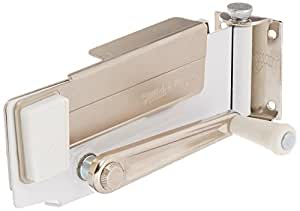 Swing-A-Way Magnetic Wall Can Opener, White
