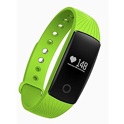 DMMDHR Heart Rate Smart Bracelet Watch Heart Rate Monitor Pedometer Smart Band Wireless Fitness Tracker Wristband Estimated Price £80.98 -