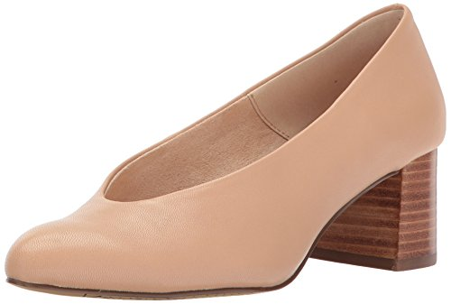 Bella Runder Klassische Frauen Leather Pumps Nude Zeh Vita Wildleder qFprwq