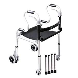 SXD Walk Andador Plegable para Personas Mayores - Asiento de Tela ...