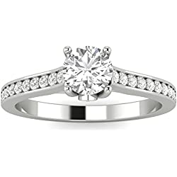 1/2ctw Diamond Engagement Ring in 10k White Gold