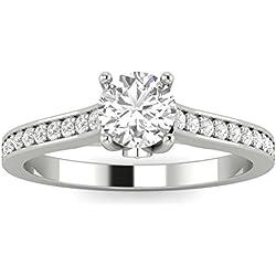1/2ctw Diamond Engagement Ring in 10k White Gold