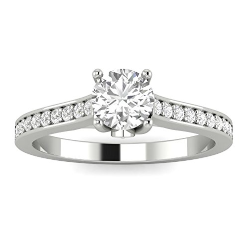 - 1/2ctw Diamond Engagement Ring in 10k White Gold