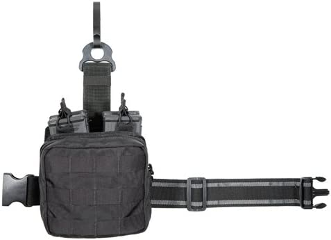 Tuff Products T.A.S.K. Active Shooter Bein System mit Personal Trauma Kit, Black Nylon