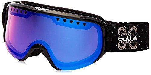 Bolle Scarlett Modulator Goggles, Shiny Black, Vermillion Blue - Bolle Ski Modulator Goggles Vermillion