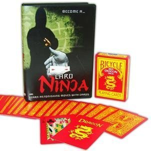 Amazon.com: Card Ninja with a Red Dragon Deck - Limited Time ...