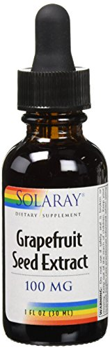 Solaray Liquid Grapefruit Seed Extract, 100 mg, 1 Fluid Ounce