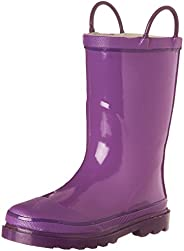Western Chief Kids Solid Firechief Rain Boot