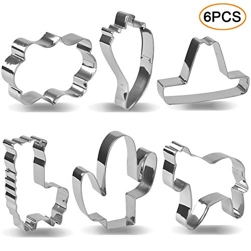 Cinco de Mayo/Mexican Heritage Cookie Cutter Set Mexican Fiesta Pinata Cookie Cutter Cactus Donkey, Cactus, Sombrero, Chili Pepper