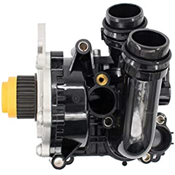 Water Pump and Thermostat Assembly With Gasket Genuine 06H121026DD NEW