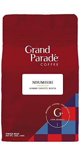 Grand Paradé COFFEE. Kenya | Kiambu Ndumberi. Fair Trade . Rain Forest Alliance. Direct-Trade . Whole Bean [12oz]